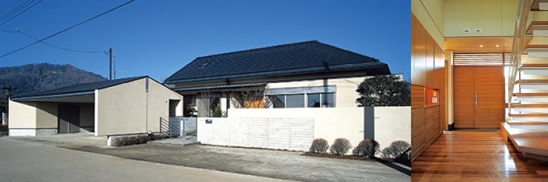 土間のある大屋根の住まい