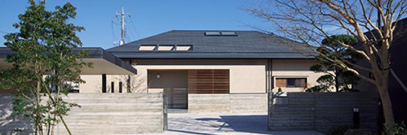 和を感じる大屋根の家